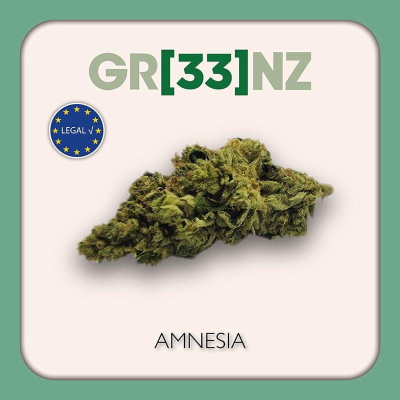Gr33nz CBD : Amnesia