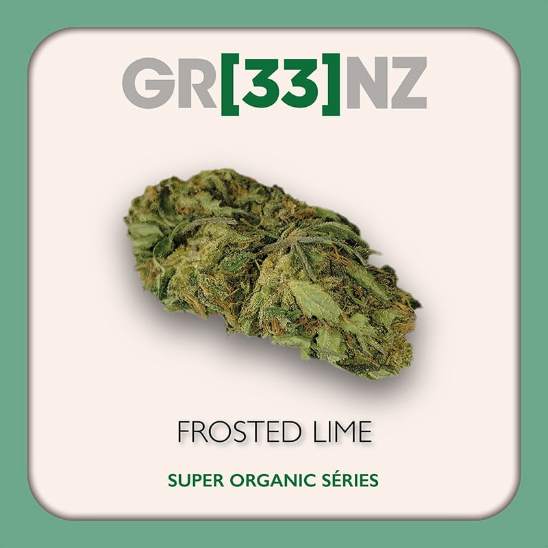 Gr33nz CBD : Frosted Lime