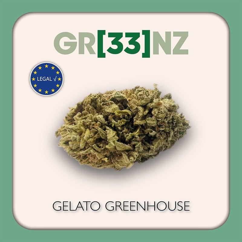 Gr33nz CBD : Gelato