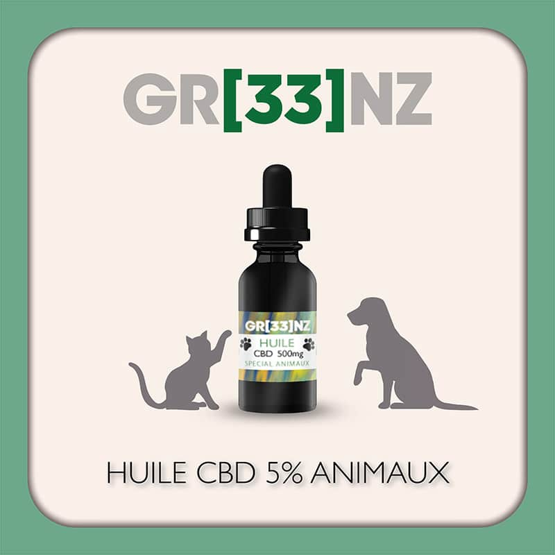 Huile 5% Animaux