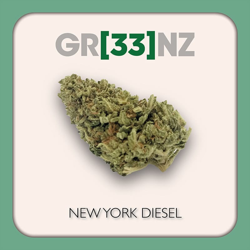 Gr33nz CBD : New York Diesel