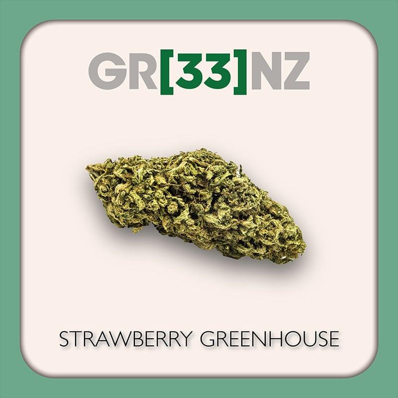 Gr33nz CBD : Strawberry Greenhouse