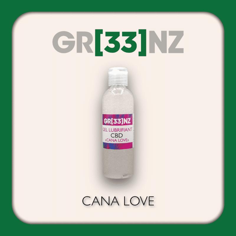 """Lubrifiant """"Canna Love"""" By Gr33nz Lab."""